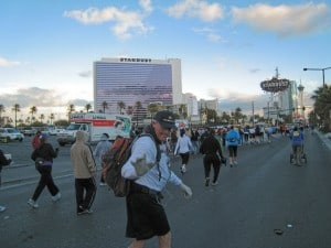 Mike Mc Bride athe Las Vegas Marathon