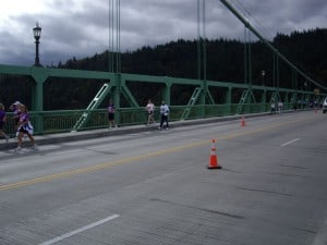 St Johns Bridge mile 18