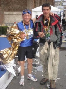 My 4th marathon-- 2008 in Rome Italy