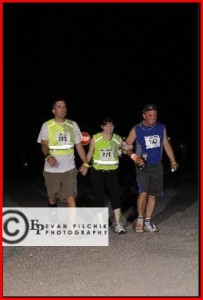 At least we crossed the finish line while it was still dark