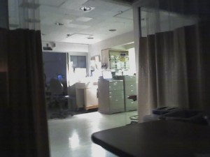 the view from my ICU bed...where''s everyone at?