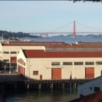 View from the top of Fort Mason