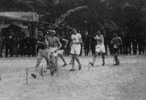 Marciatori Racewalking Track... Circa 1900