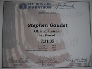 finisher certificates 007