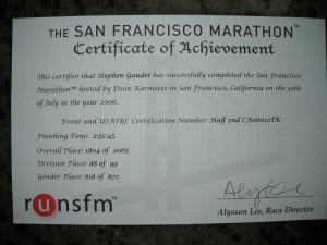 finisher certificates 011