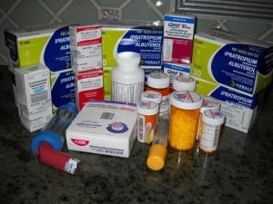 My Asthma medications