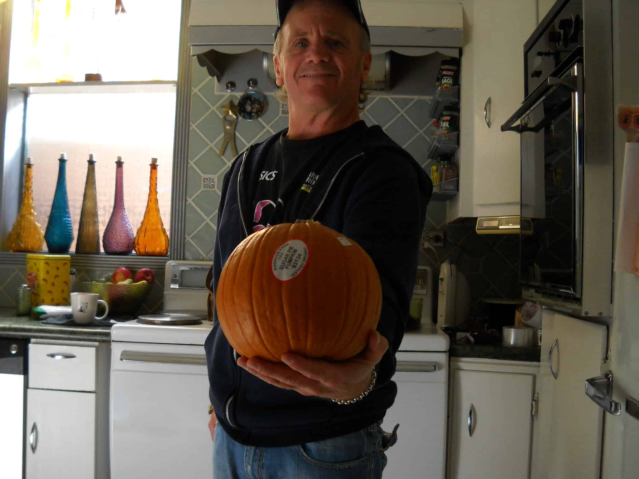 organic sugar pumpkin 015