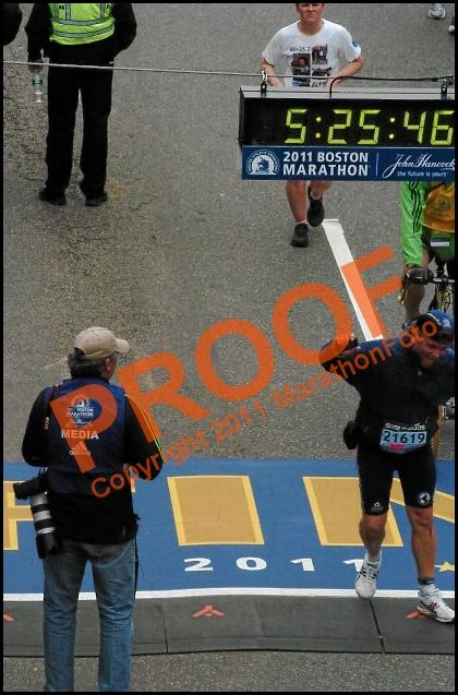 Boston 2011 Race Report