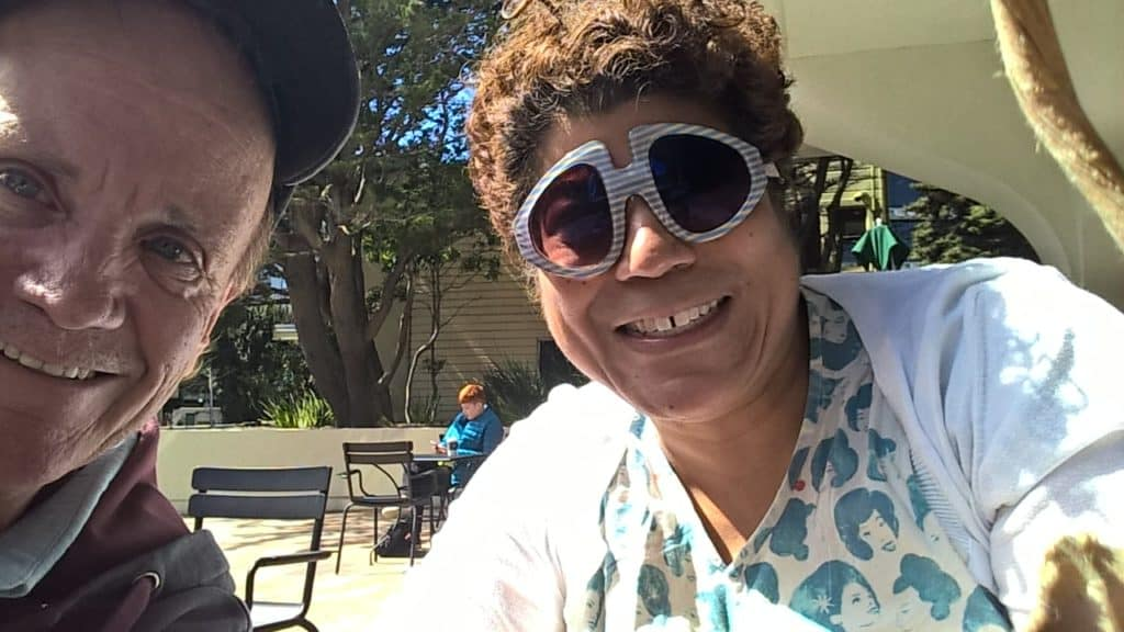 Met up with my friend Dia. She has a weird type of asthma as well. We see the same lung specialist at UCSF. Not a big deal, except Dia travels 3000 miles from Canada to get to her appt. I only travel across town.